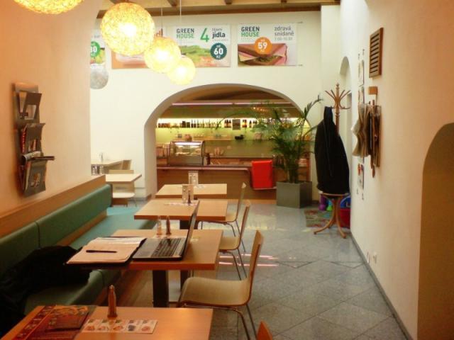 Fotka GREENHOUSE zdravý restaurant