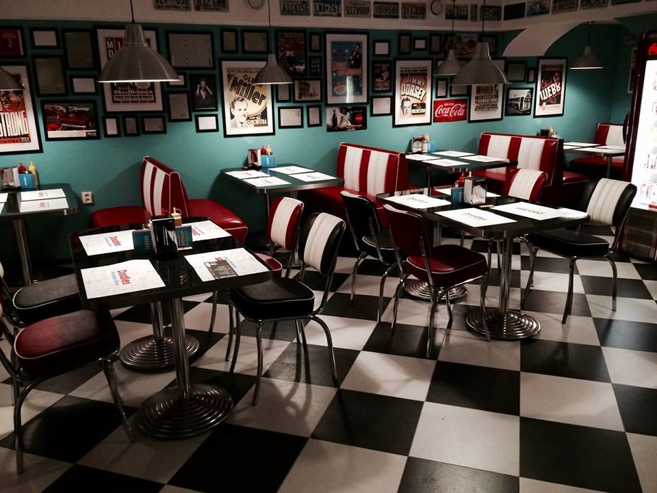 Fotka Doodles - American diner