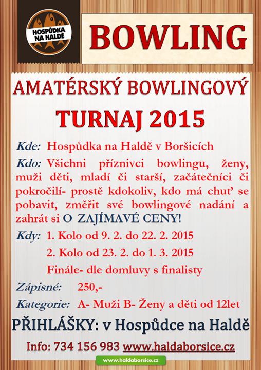 Fotka Amatérský bowlingový turnaj