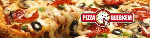 Fotka Pizza bleskem